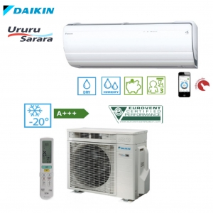 Daikin Ururu Sarara FTXZ50N / RXZ50N  • Termomisija.lt Oro kondicionieriai, šilumos siurbliai. Montavimas, prekyba, priežiūra